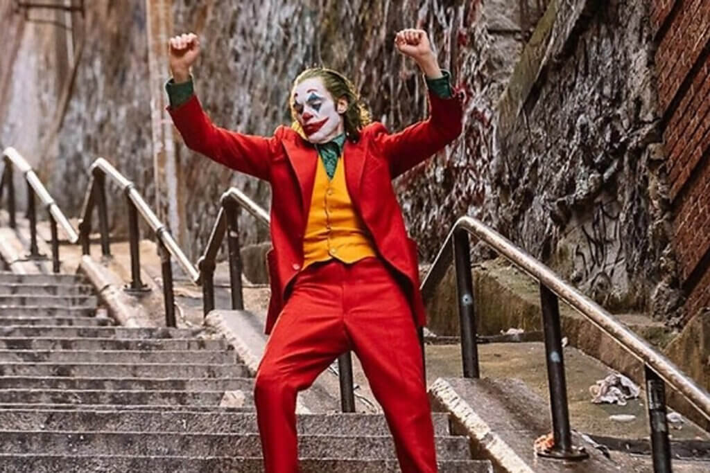 Afbeelding bij artikel: Joker en de 'clown world' van alt-right